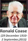 Ronald Coase  1910-2013-StratoServe
