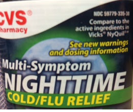 CVS-compare to NyQuil-StratoServe