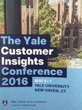 Yale Customer Insights Conference 2016 - What's Your Brand Mission-StratoServe